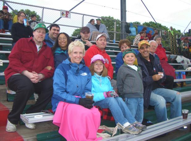 Front Row: Meg, Lauryn, Dylan & Brook Anthony, Second Row: Scott, Mary Carter, Eric Hultgren, Sherill Anthony, Doug Cox, Third Row: Chadi Hayek, Josh Crawley