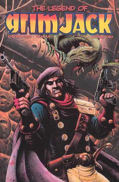 GrimJack Vol. 2 cover