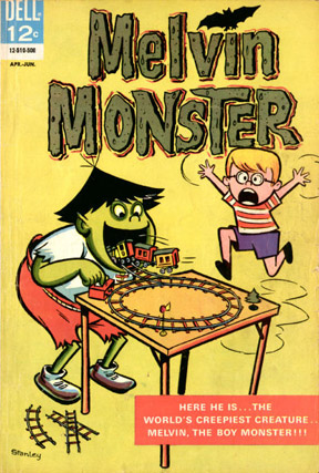 Melvin Monster #1 cover