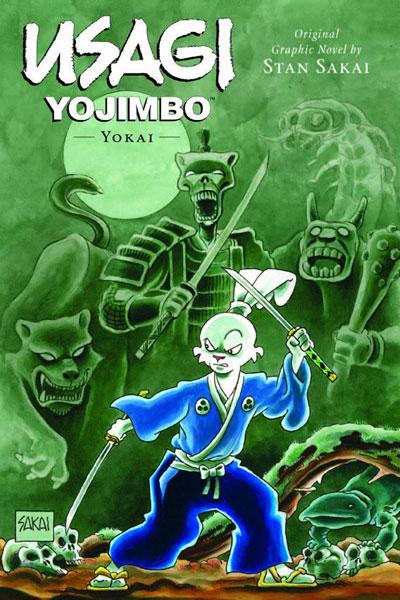 Usagi Yojimbo: Yokai cover