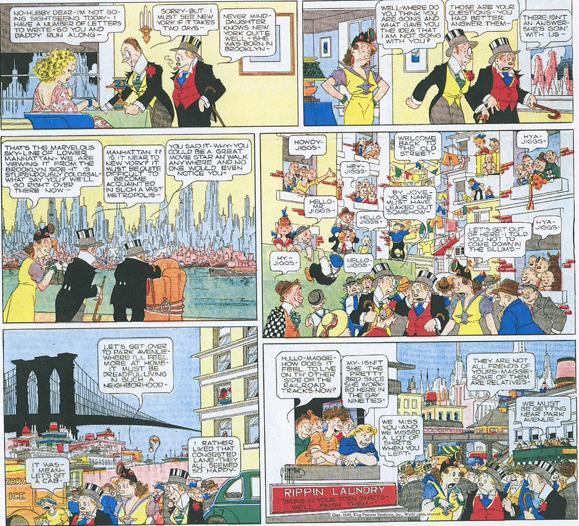 Bringing Up Father Sunday strip (Jan. 7, 1940)