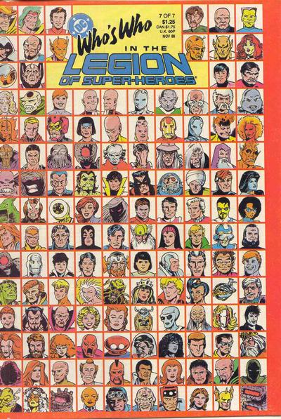 Who's Who in the Legion of Super-Heroes #7. And this is only the front cover!
