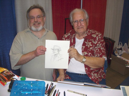 Roger with the great Nick Cardy