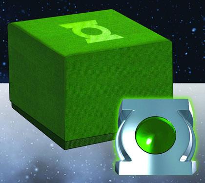 Green Lantern: Honor Guard Ring Prop Replica