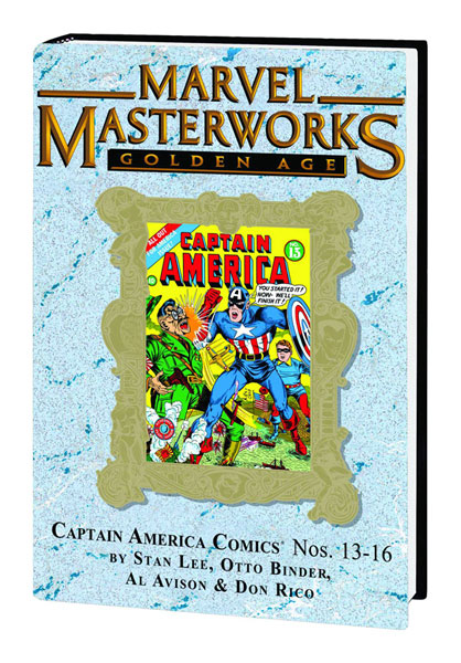 Marvel Masterworks: Golden Age Captain America