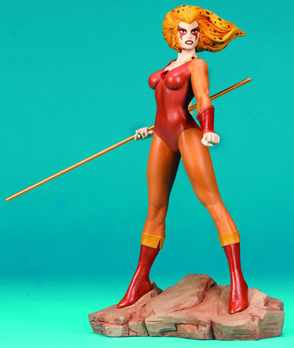 Thundercats Chetara on Thundercats Cheetara Statue