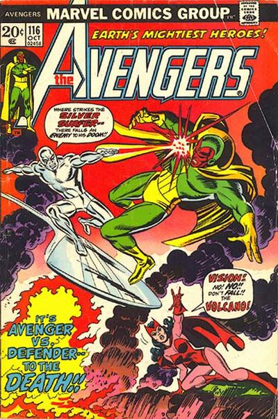 Avengers #116
