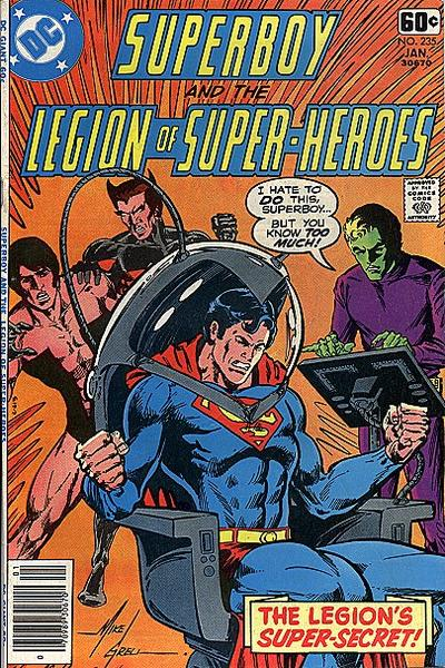 Superboy & the Legion of Super-Heroes #235