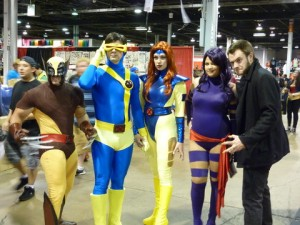 X-Men at Chicago-Con