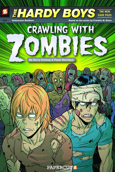 Hardy Boys: Crawling With Zombies