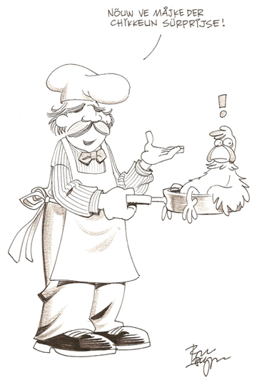 The Swedish Chef convention sketch by Roger Langridge