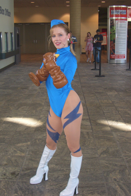 Street Fighter's Cammy