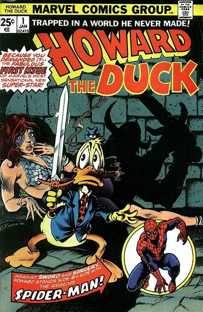 Howard the Duck #1 was one of the earliest comics affected by speculators.