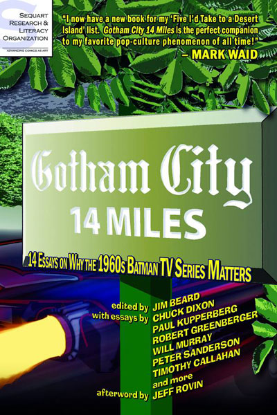 Gotham City 14 Miles