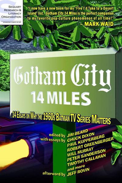 Gotham City 14 Miles