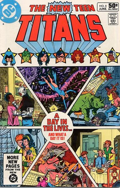 New Teen Titans #8