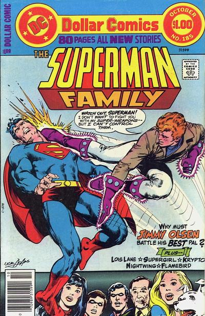Superman Family #185