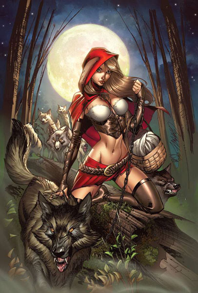 Grimm Fairy: Tales Myths & Legends Campbell Cover