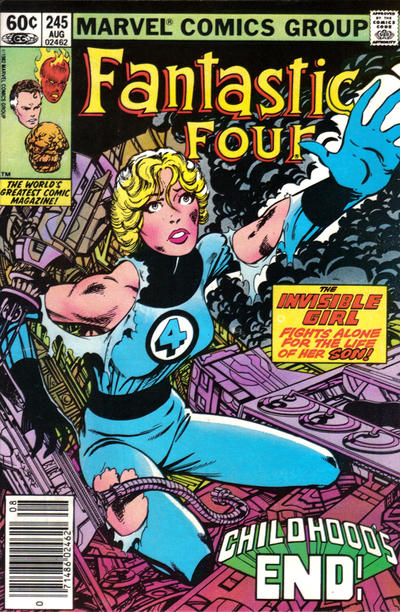 Fantastic Four #245. Art by John Byrne
