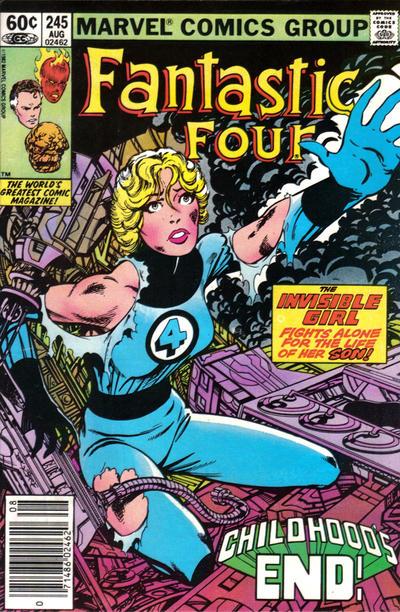 Fantastic Four #245. Art by John Byrne