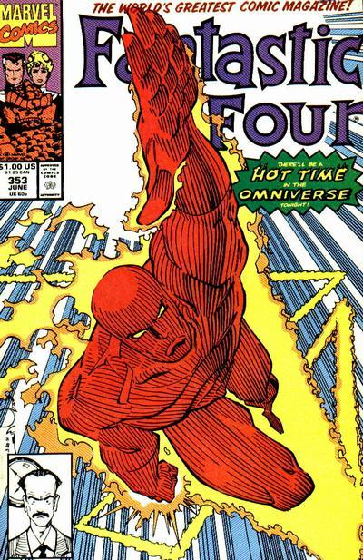 Fantastic Four #353. Art by Walter Simonson