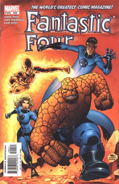 Fantastic Four #509. Art by Wieringo &amp; Kesel.