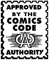 Comics Code Seal