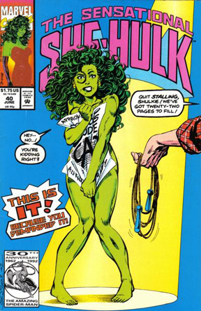 Sensational She-Hulk #40