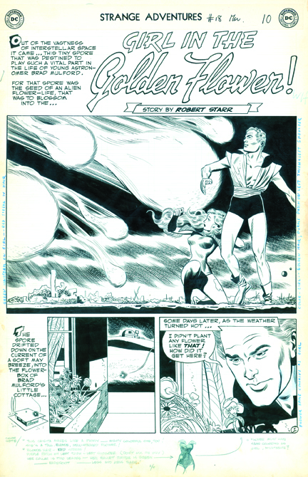 Toth art from Strange Adventures #18