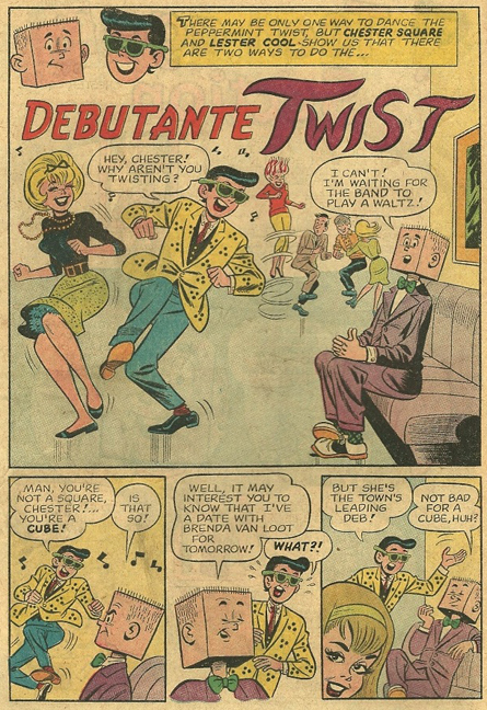 Chester Square and Lester Cool from Archie's Mad House #21. Art by Dan DeCarlo.