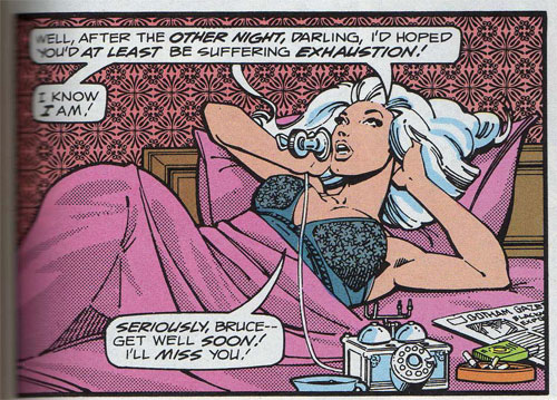 Silver St. Cloud. Art by Marshall Rogers & Terry Austin.