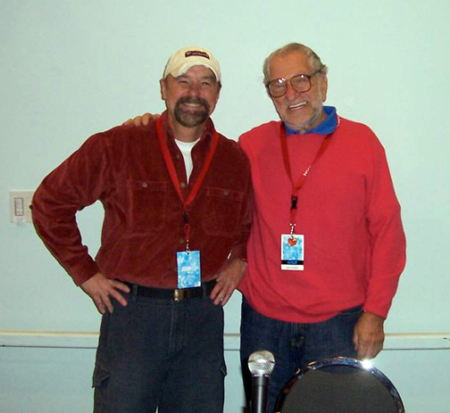 Beau with Joe Kubert