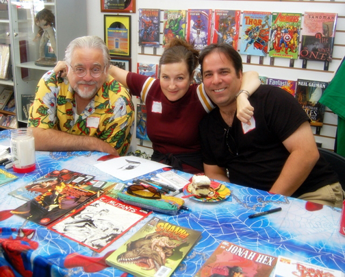Chuck Dixon, Amanda Conner &amp; Jimmy Palmiotti