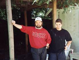 Beau with Dan Brereton