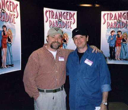 Beau with Terry Moore