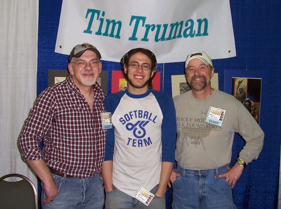 Tim &amp; Ben Truman with Beau