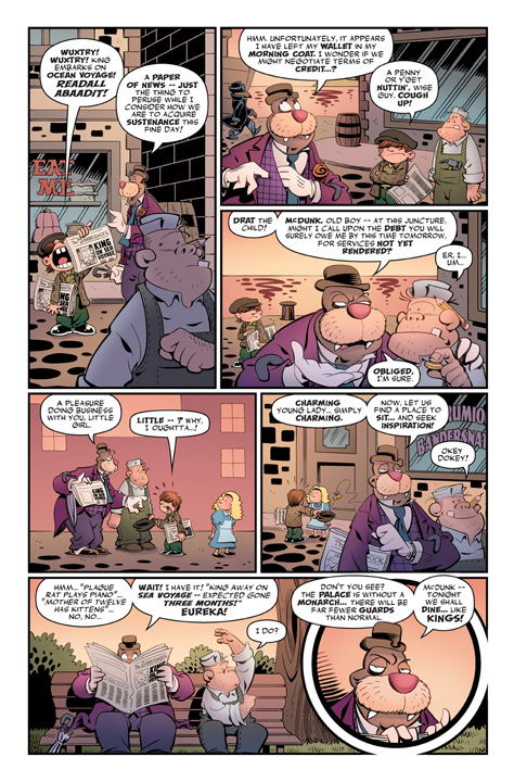 Roger Langridge's Snarked! #0 Preview Page 2