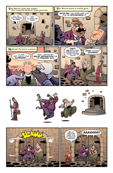 Roger Langridge's Snarked! #0 Preview Page 3