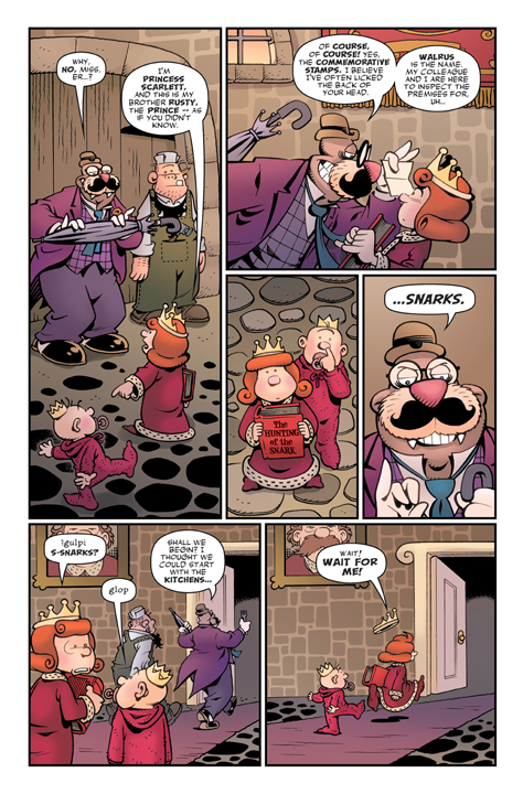 Roger Langridge's Snarked! #0 Preview Page 4
