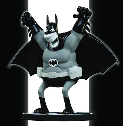 Batman Black & White Statue by Sergio Aragones