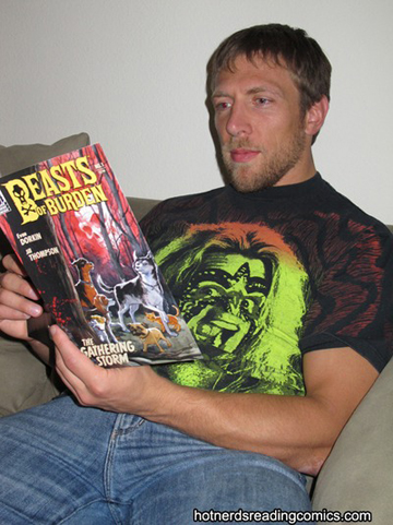 Daniel Bryan reads comics!