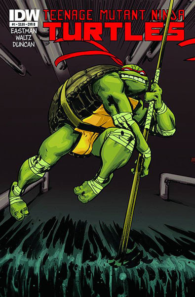 Teenage Mutant Ninja Turtles #1b