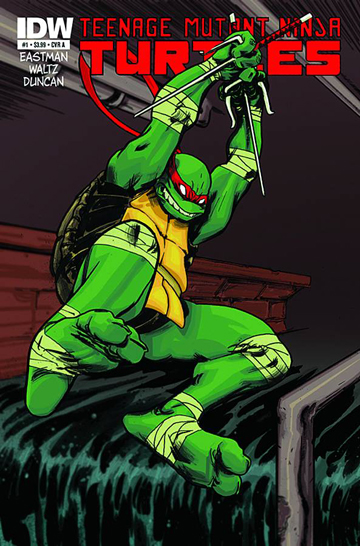 Teenage Mutant Ninja Turtles #1a