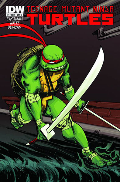 Teenage Mutant Ninja Turtles #1c