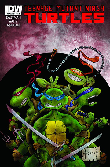 Teenage Mutant Ninja Turtles Sam Kieth cover