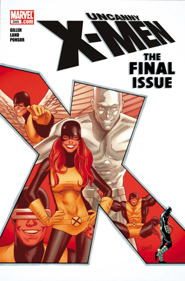 Uncanny X-Men #544