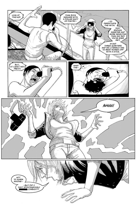 LoveSTRUCK preview page 3