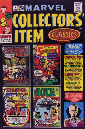 Marvel Collectors' Item Classics #5