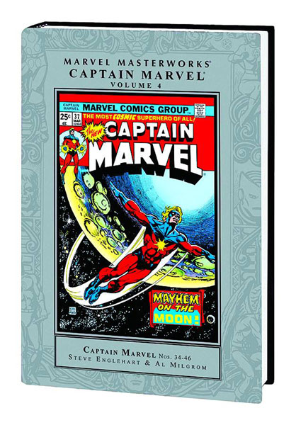 Marvel Masterworks Captain Marvel Vol. 4