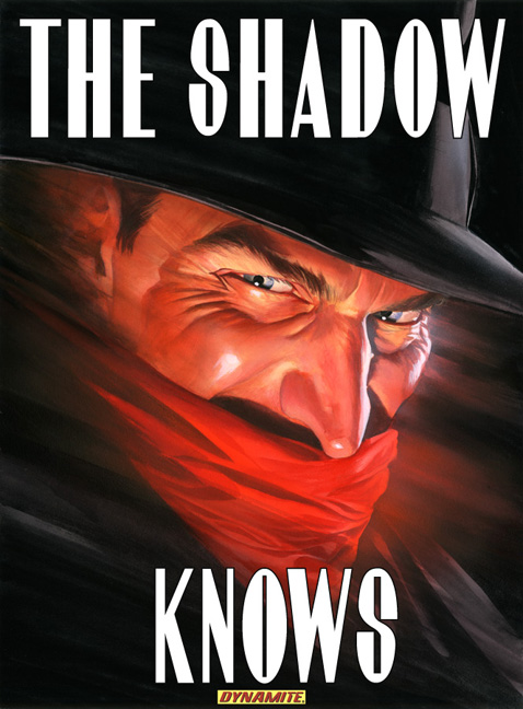 The Shadow Alex Ross Cover
